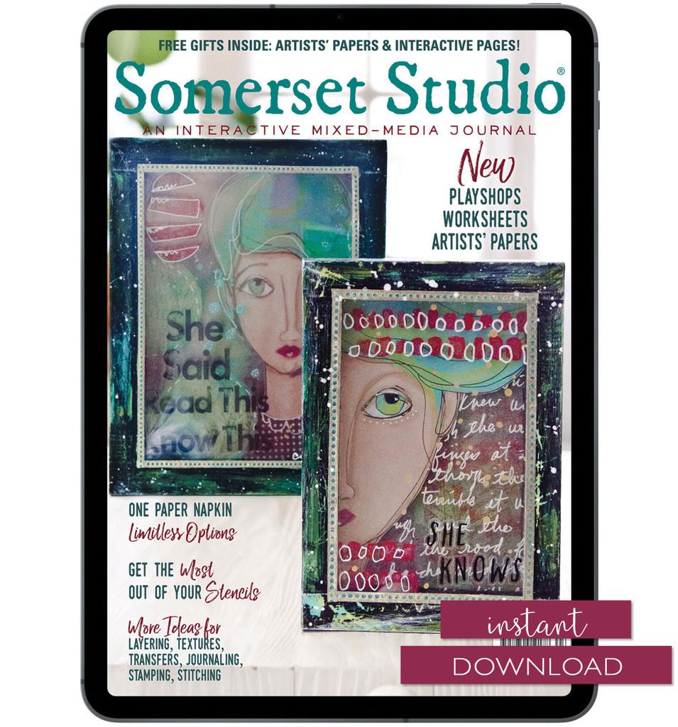 Somerset Studio Autumn 2019 Instant Download