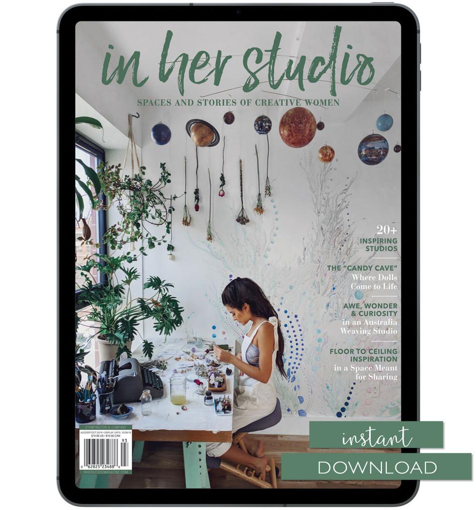 In Her Studio Autumn 2019 Instant Download