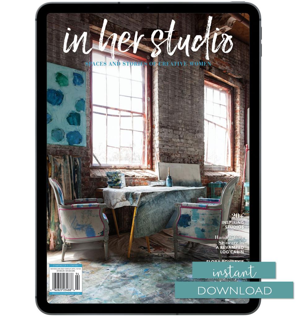 In Her Studio Winter 2020 Instant Download