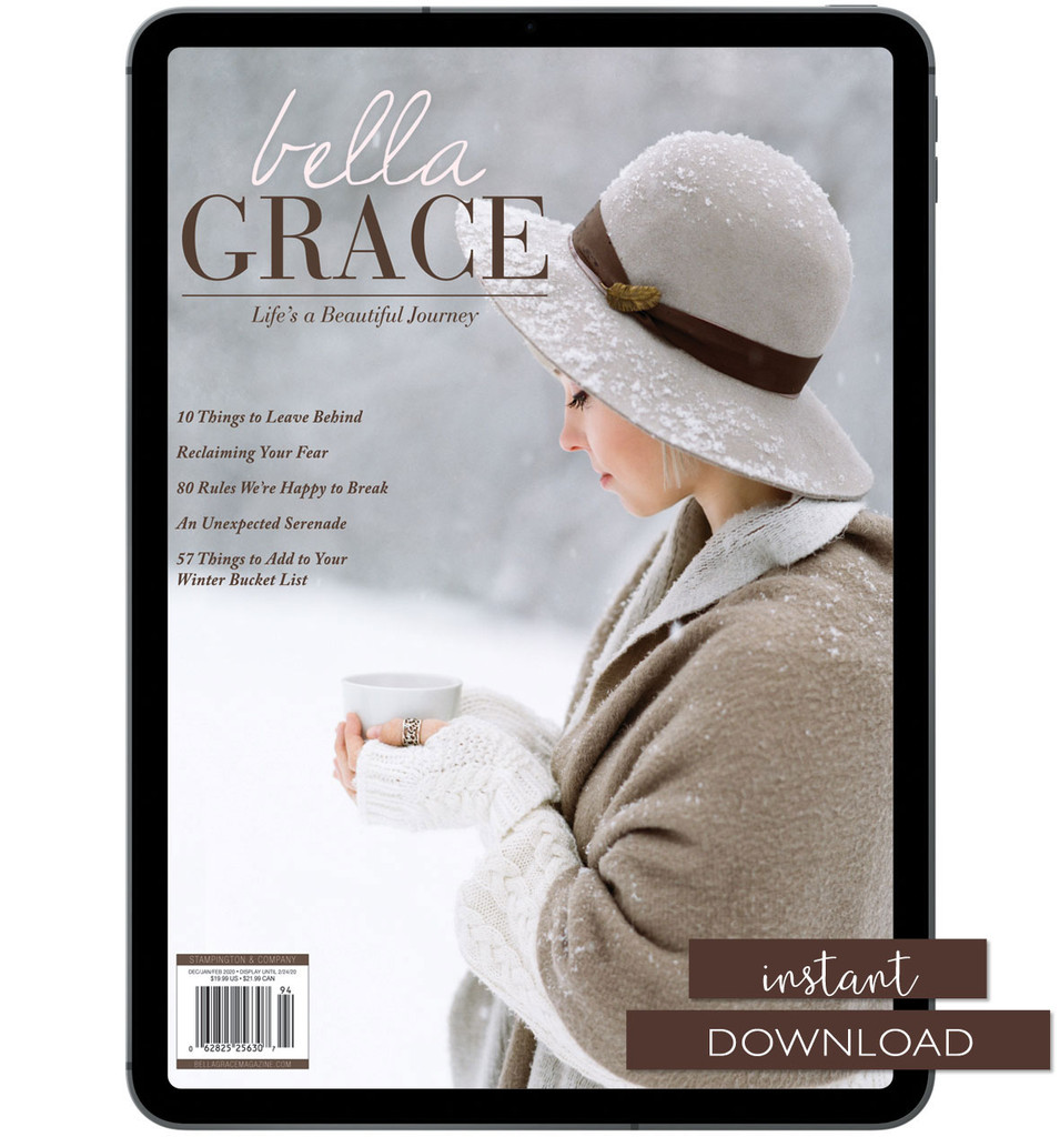 Bella Grace Issue 22 Instant Download