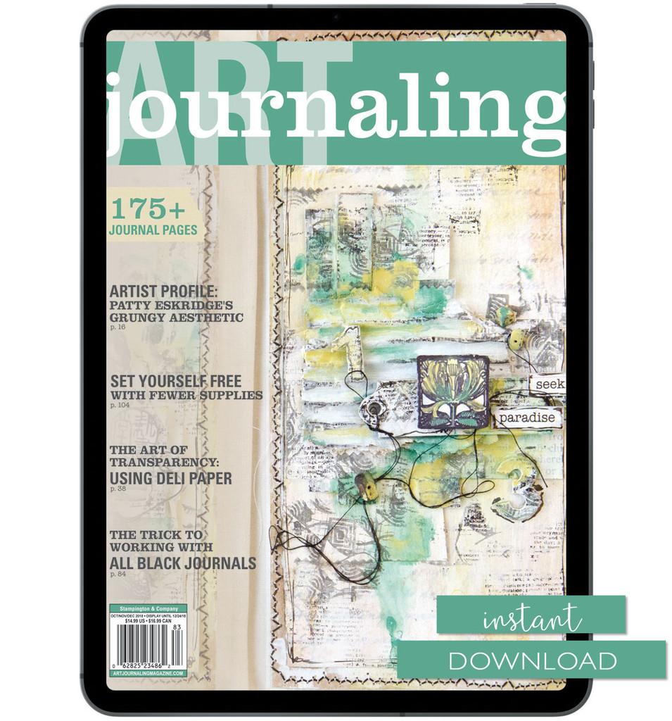 Art Journaling Autumn 2018 Instant Download