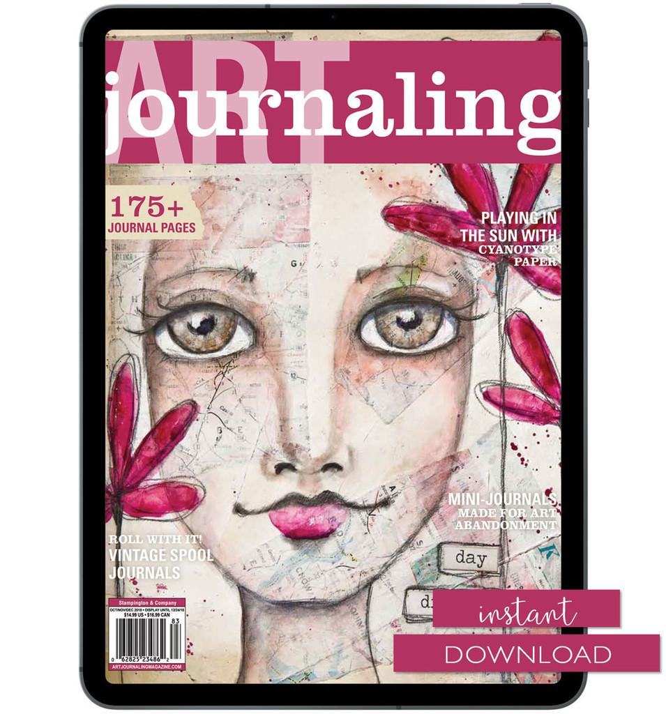 Art Journaling Winter 2019 Instant Download