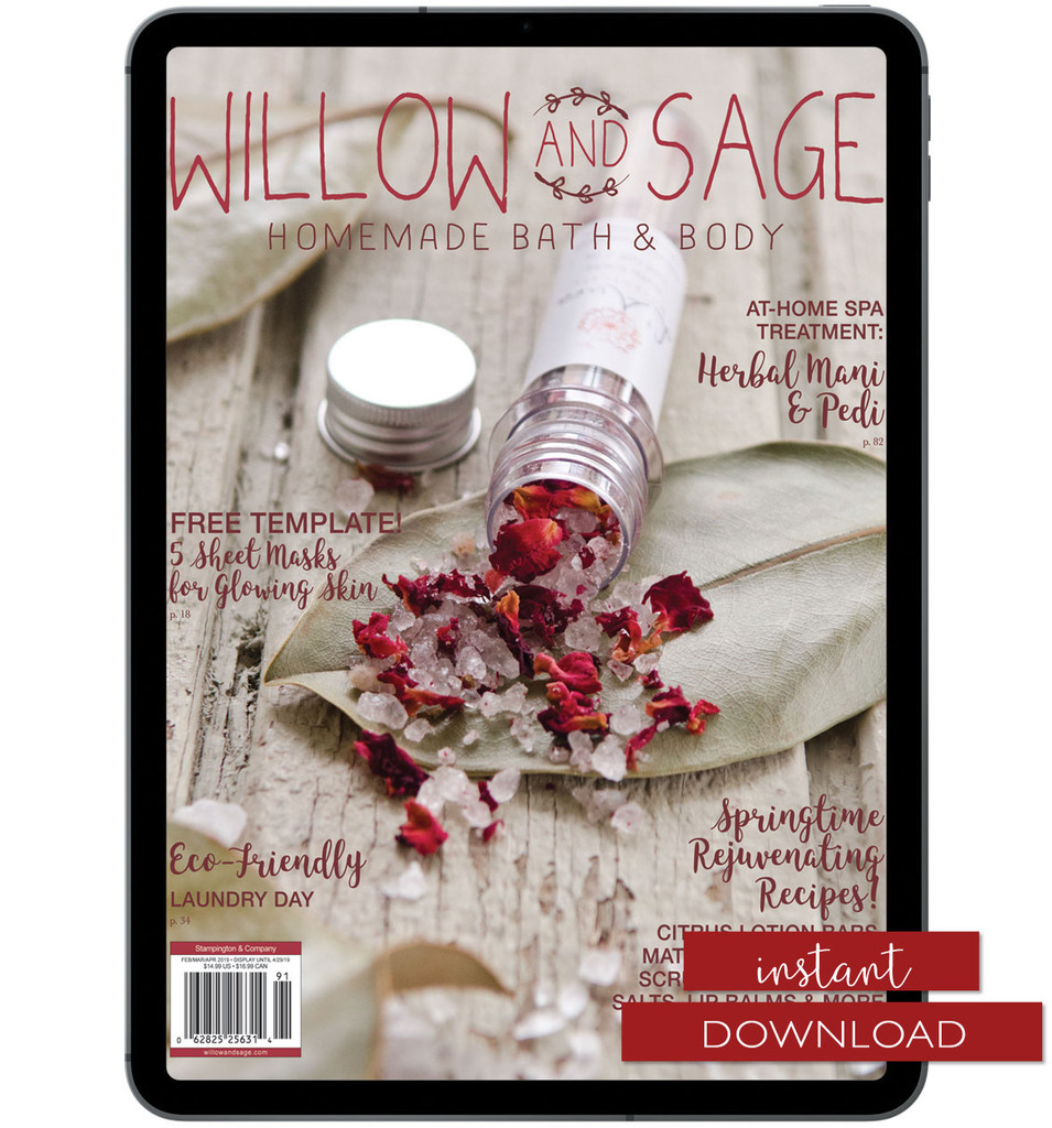 Willow and Sage Spring 2019 Instant Download
