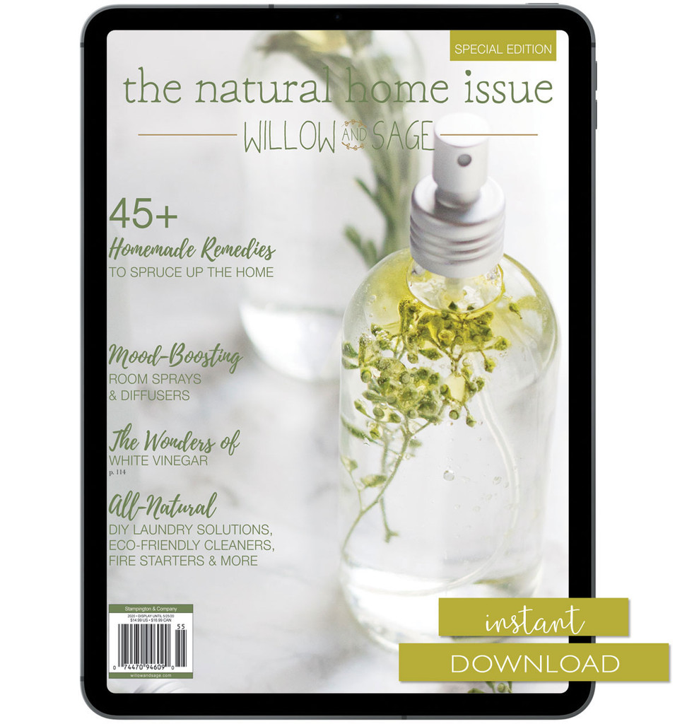 Willow and Sage Natural Home Issue Instant Download