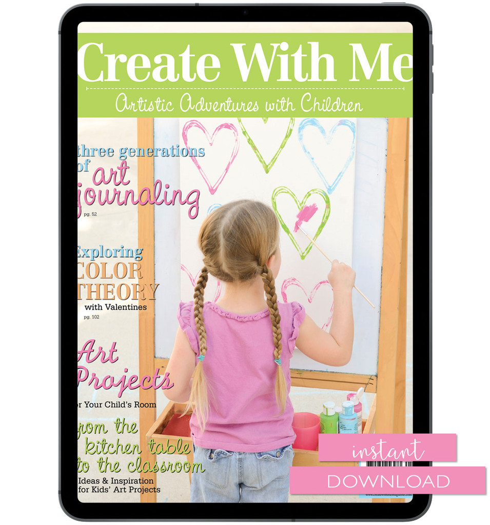 Create With Me Winter 2012 Instant Download