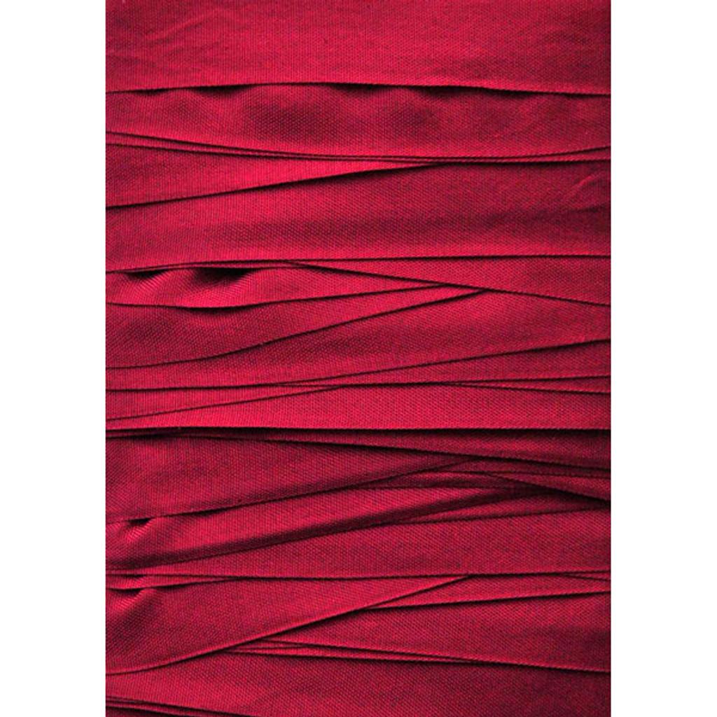 Seam Binding Ribbon Basque Red — 10 Yards