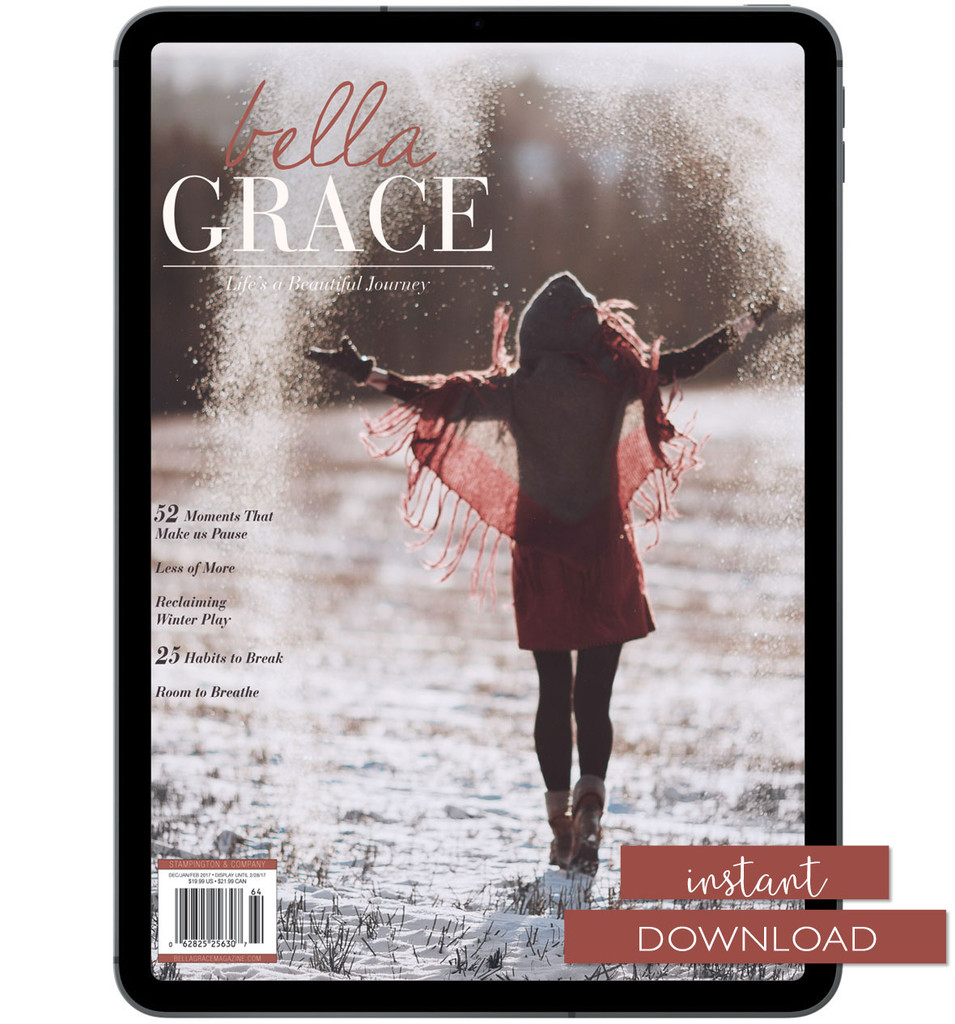 Bella Grace Issue 10 Instant Download