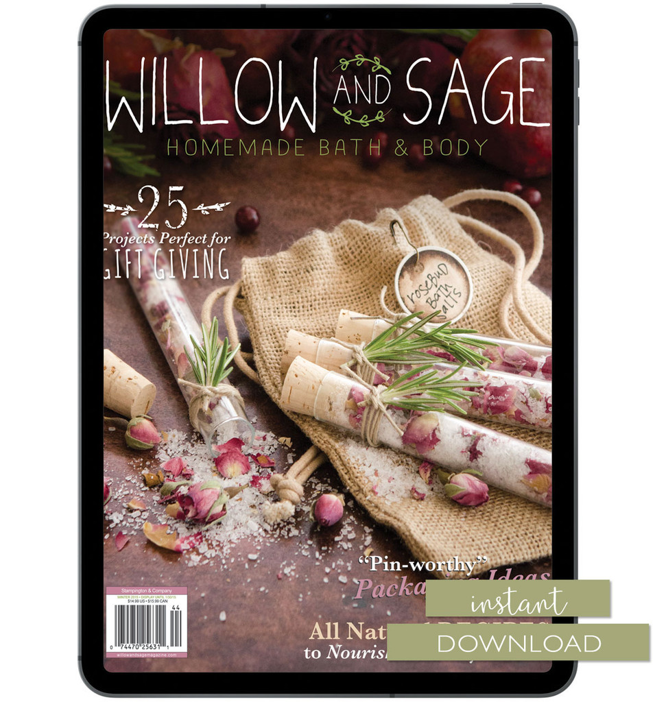 Willow and Sage Winter 2015 Instant Download