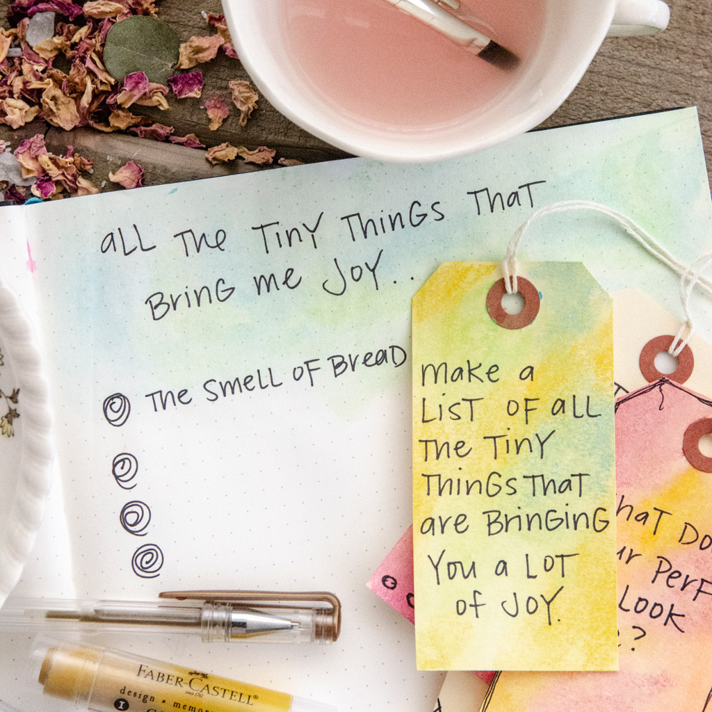 Reflecting Inward Journaling Prompt Tags by Christen Hammons