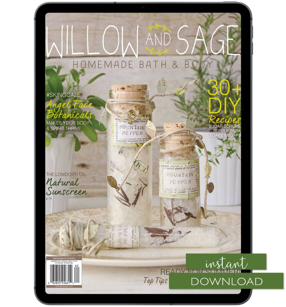 Willow and Sage Summer 2016 Instant Download