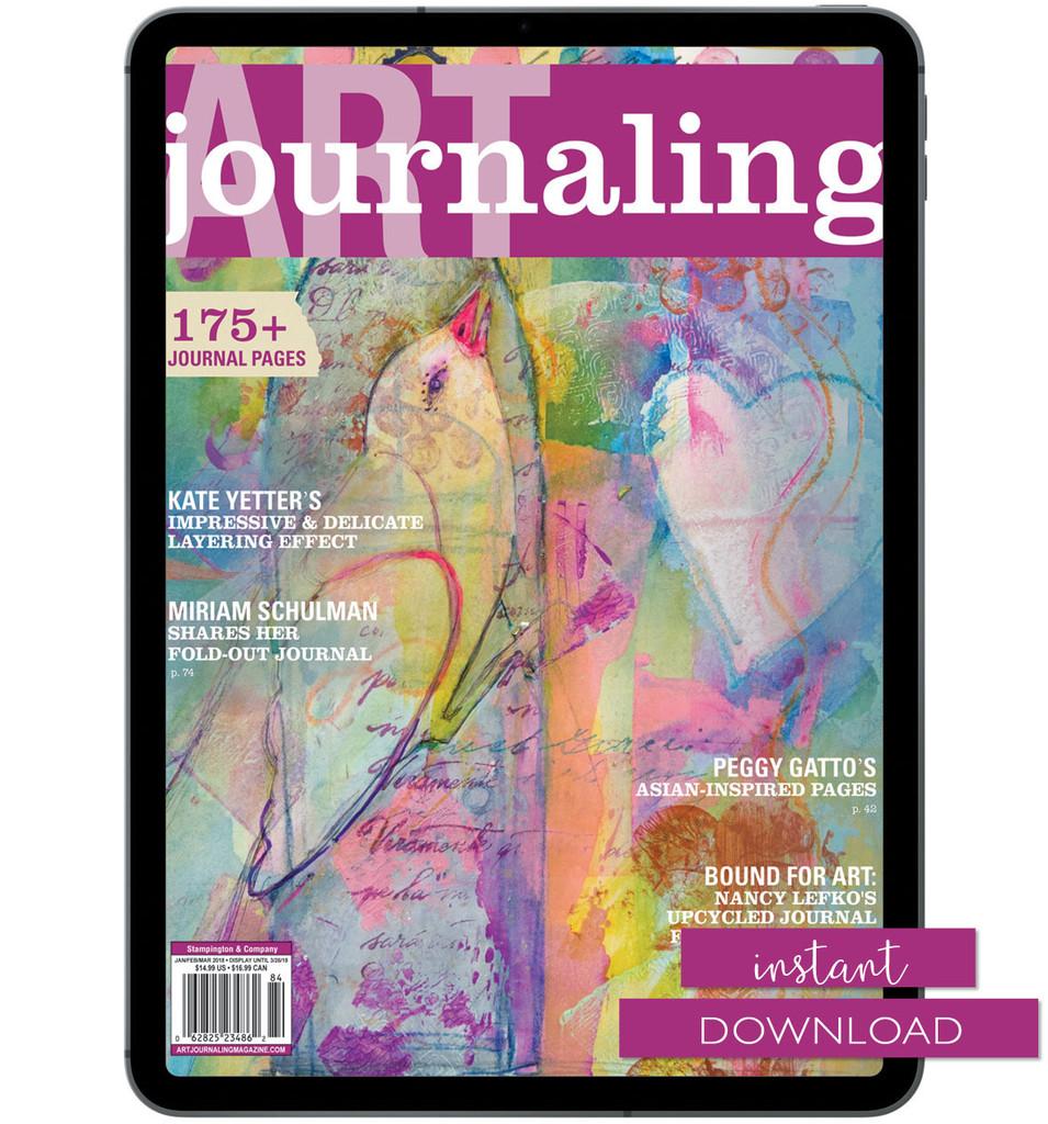 Art Journaling Winter 2018 Instant Download