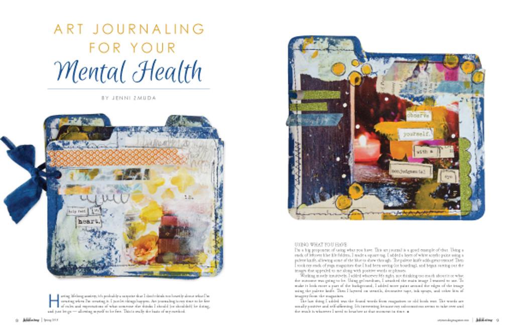 Art Journaling Spring 2018 Instant Download