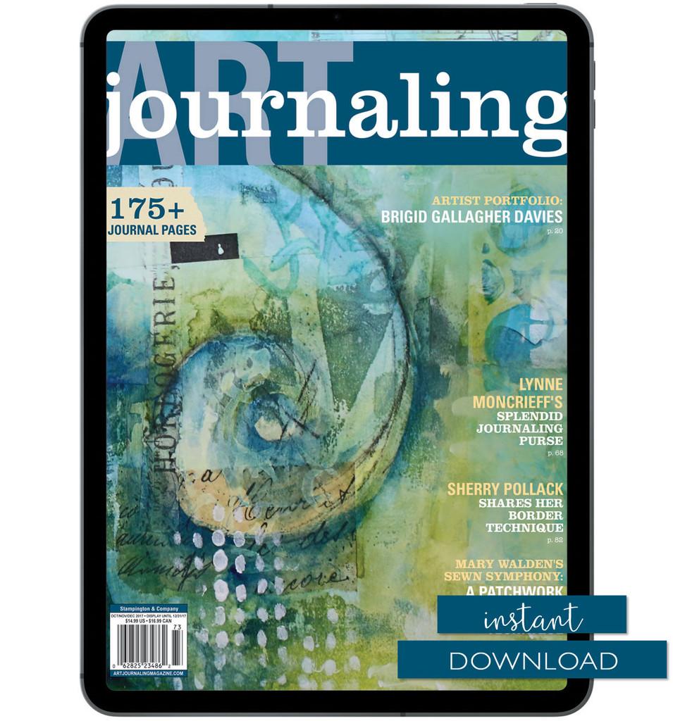 Art Journaling Autumn 2017 Instant Download