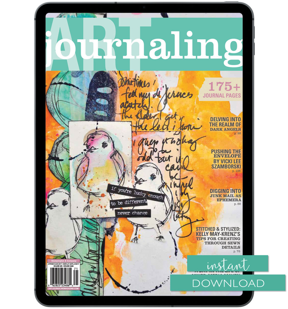 Art Journaling Spring 2017 Instant Download