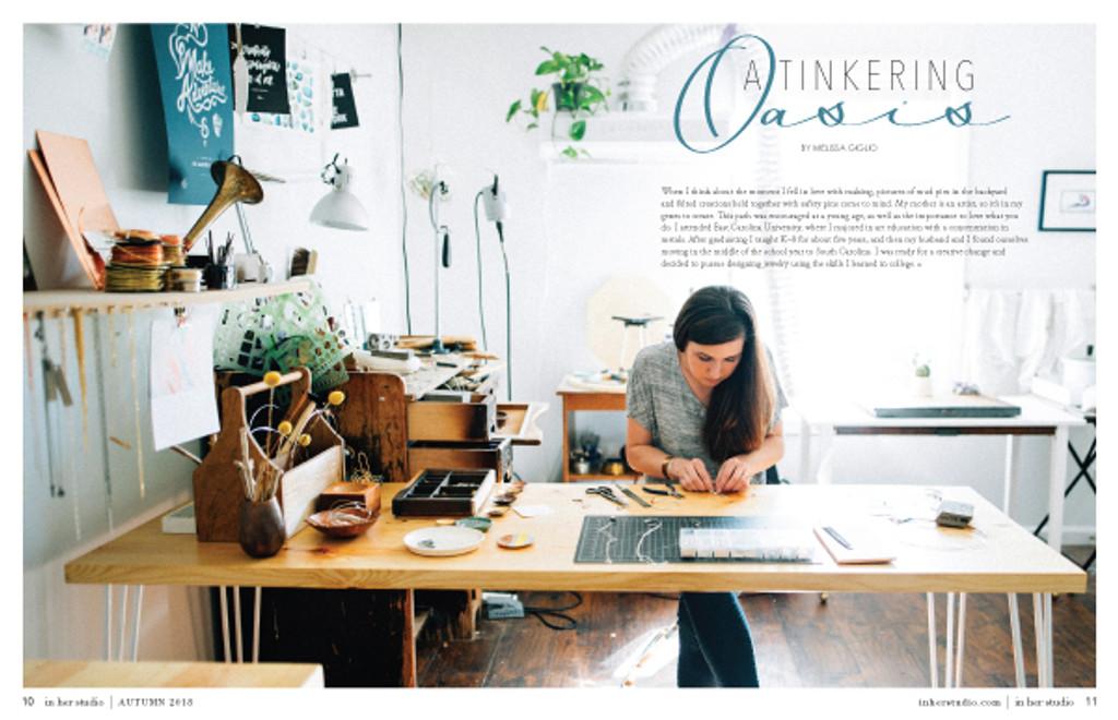 In Her Studio Premier Issue Instant Download