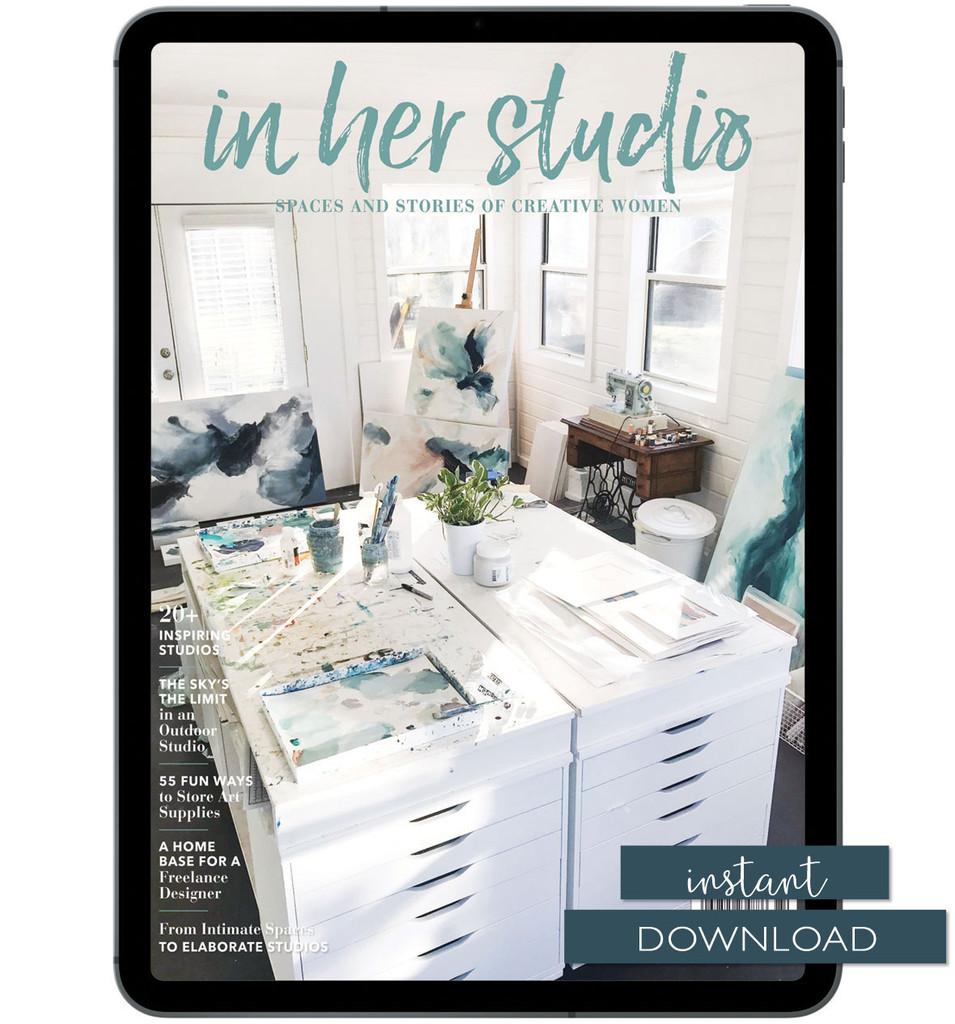 In Her Studio Winter 2019 Instant Download