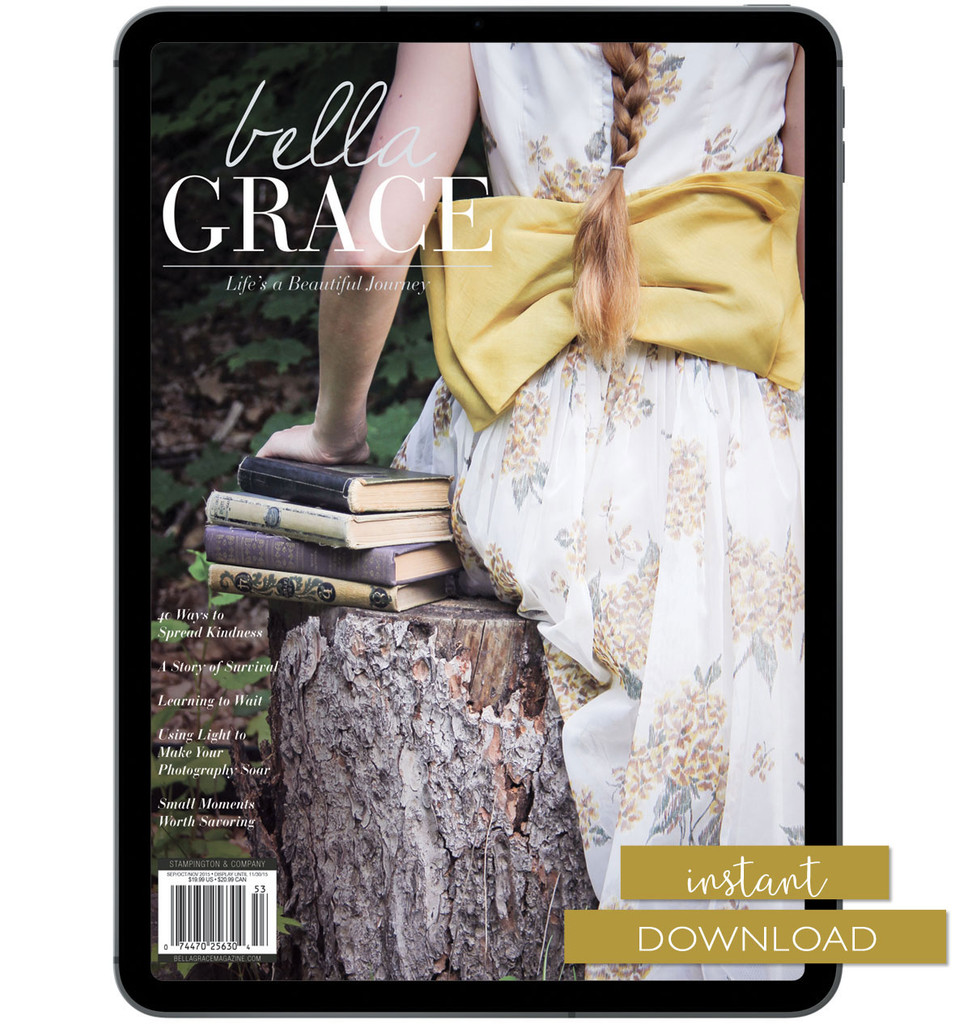 Bella Grace Issue 5 Instant Download