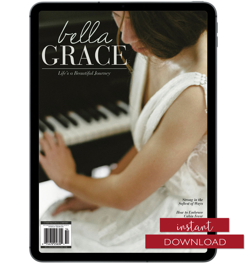 Bella Grace Issue 6 Instant Download