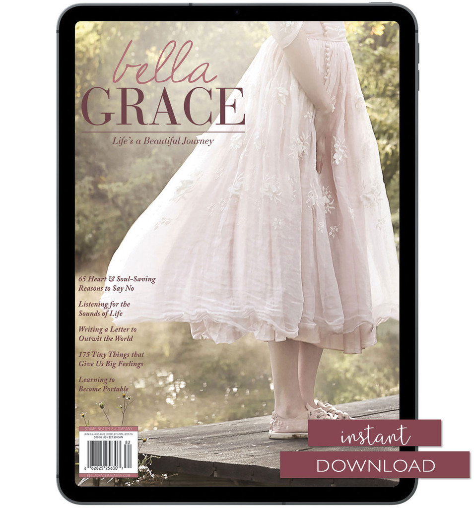 Bella Grace Issue 16 Instant Download