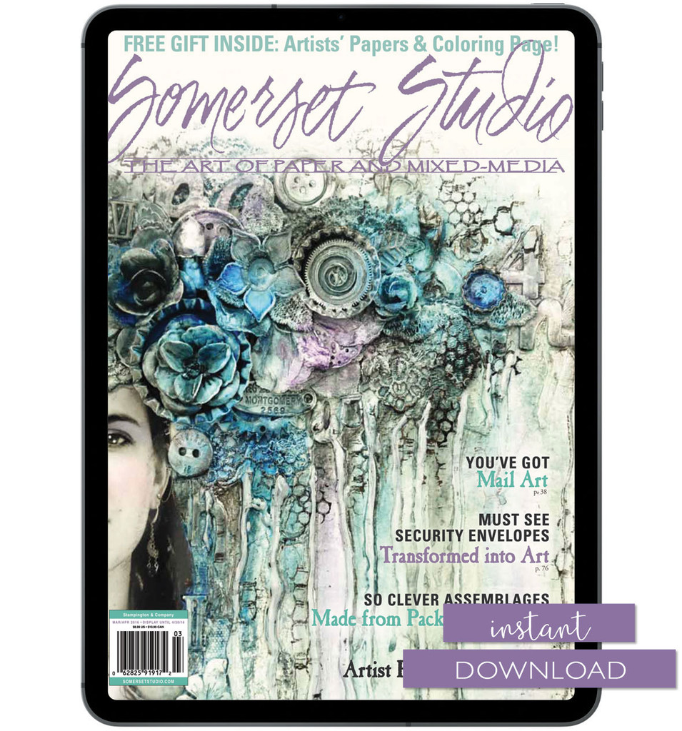 Somerset Studio Mar/Apr 2016 Instant Download