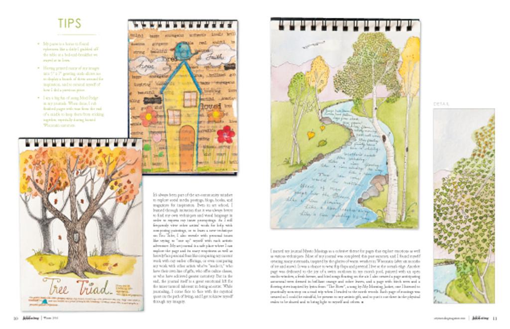 Art Journaling Winter 2016 Instant Download