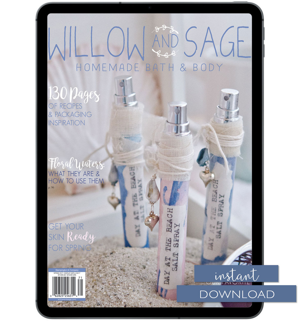 Willow and Sage Spring 2017 Instant Download