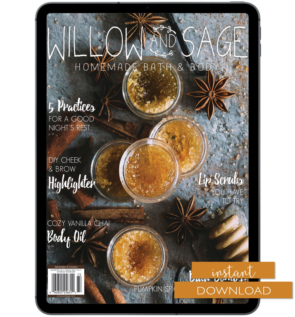 Willow and Sage Autumn 2017 Instant Download