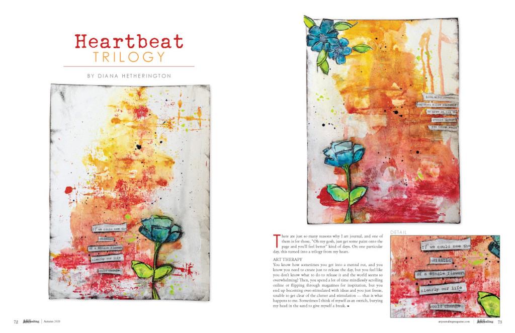 Art Journaling Autumn 2020 – New!