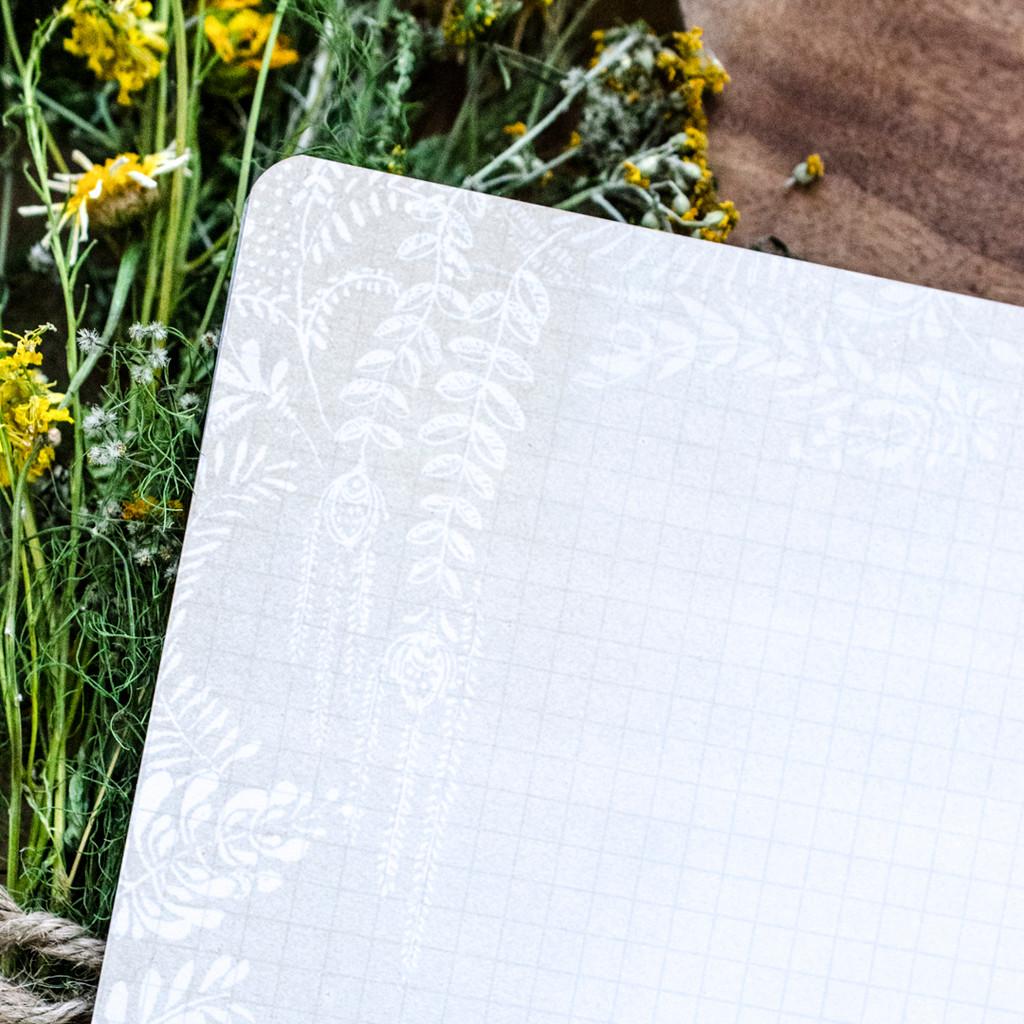 Living Woman Spiral Notebook by Papaya Art