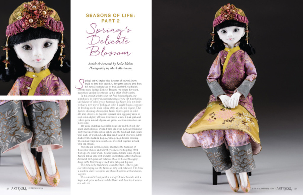 Art Doll Quarterly Spring 2016 Instant Download