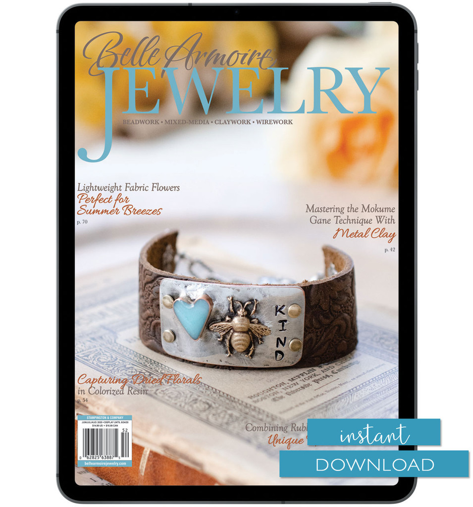 Belle Armoire Jewelry Summer 2020 Instant Download