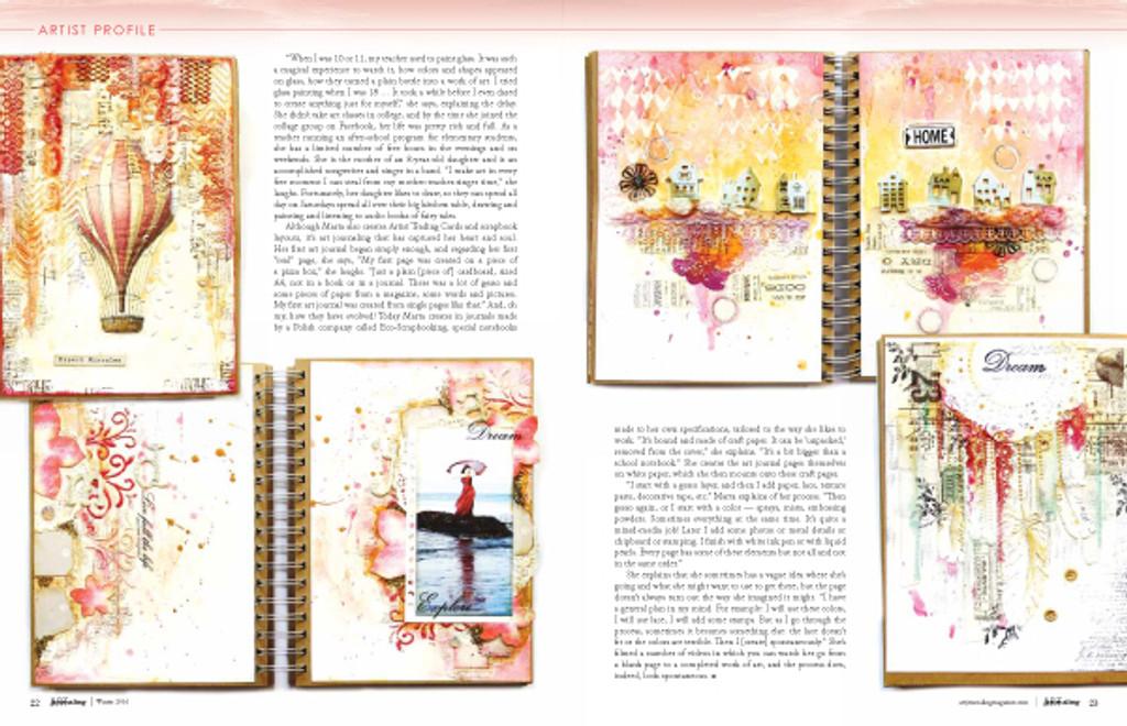 Art Journaling Summer 2016 Instant Download