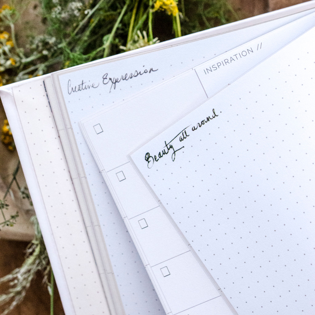 Starry-Eyed Dateless Planner by Papaya Art