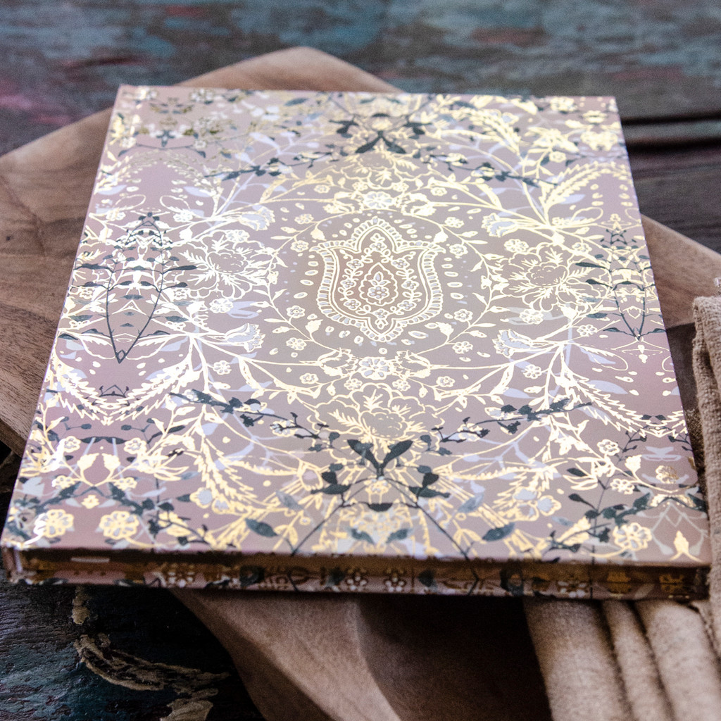 Lotus Garden Journal  by Papaya Art