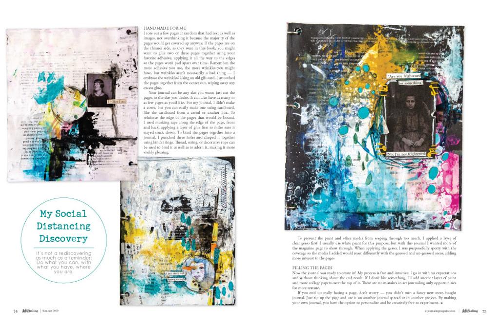 Art Journaling Summer 2020 Instant Download