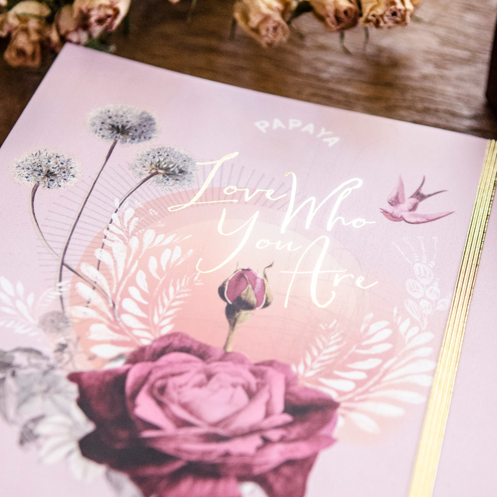 Love Who You Are 2021 Deluxe Planner by Papaya Art