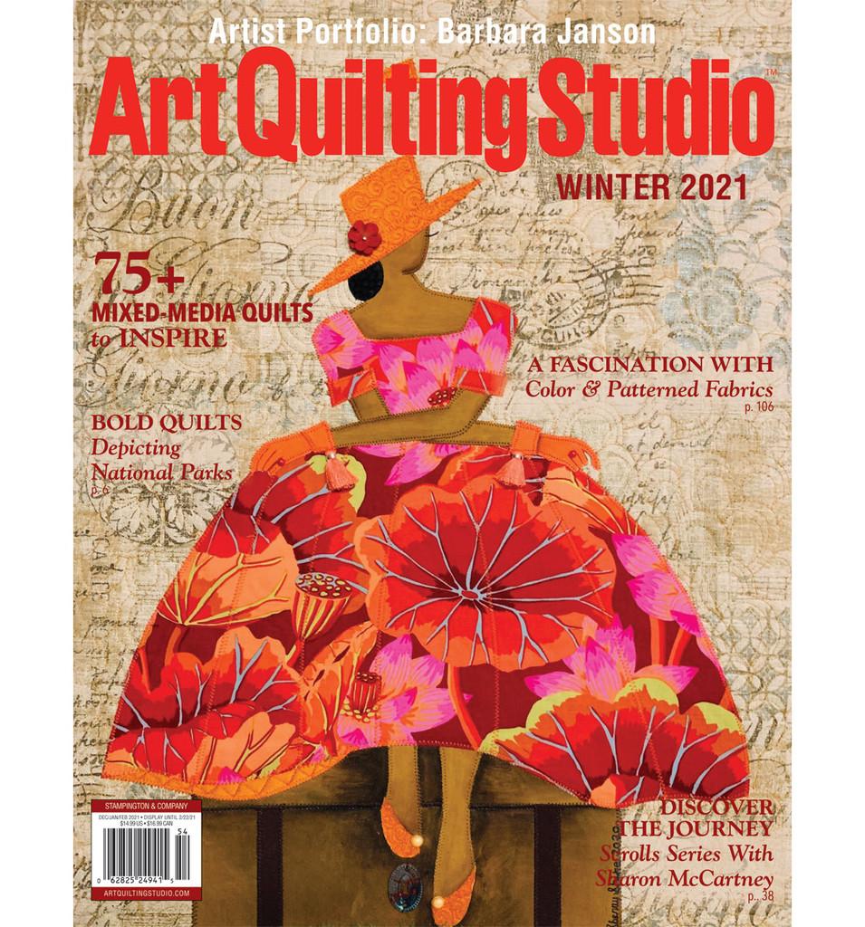 Art Quilting Studio Winter 2021