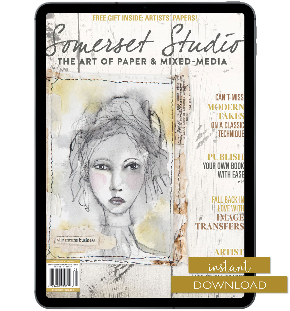 Somerset Studio May/June 2018 Instant Download