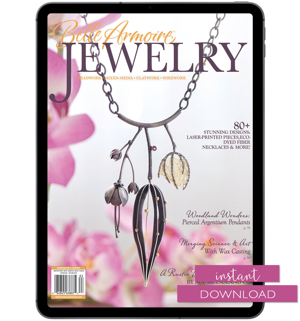 Belle Armoire Jewelry Autumn 2018 Instant Download