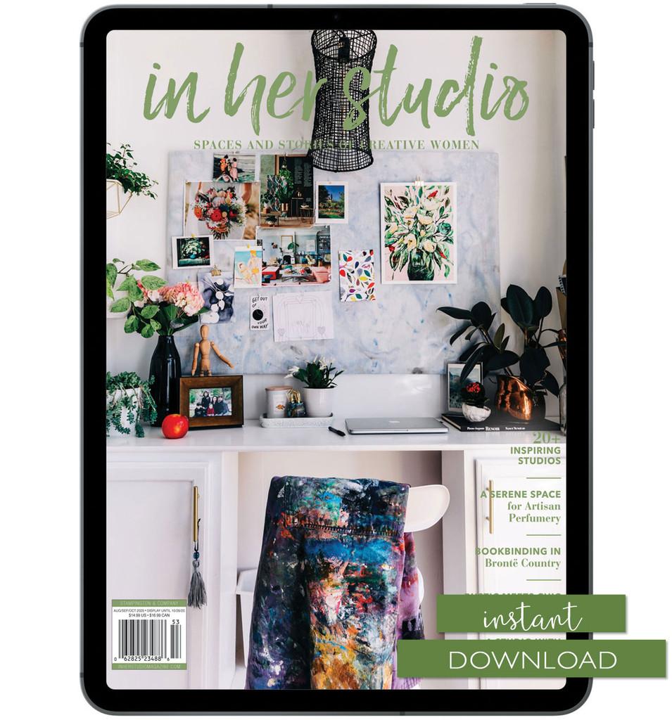 In Her Studio Autumn 2020 Instant Download