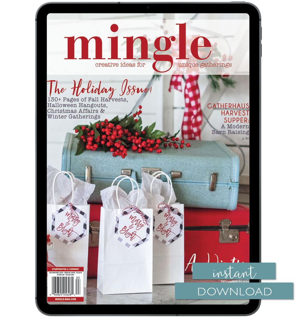 Mingle Autumn 2018 Instant Download