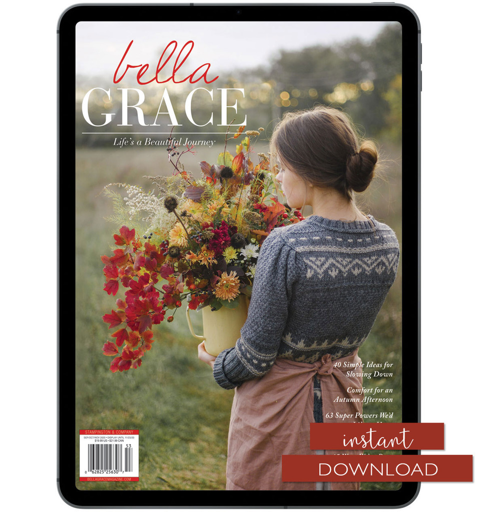 Bella Grace Issue 25 Instant Download