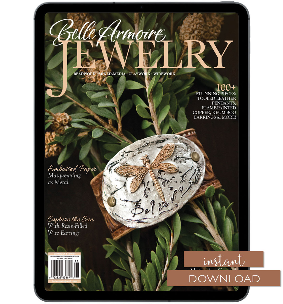 Belle Armoire Jewelry Spring 2019 Instant Download