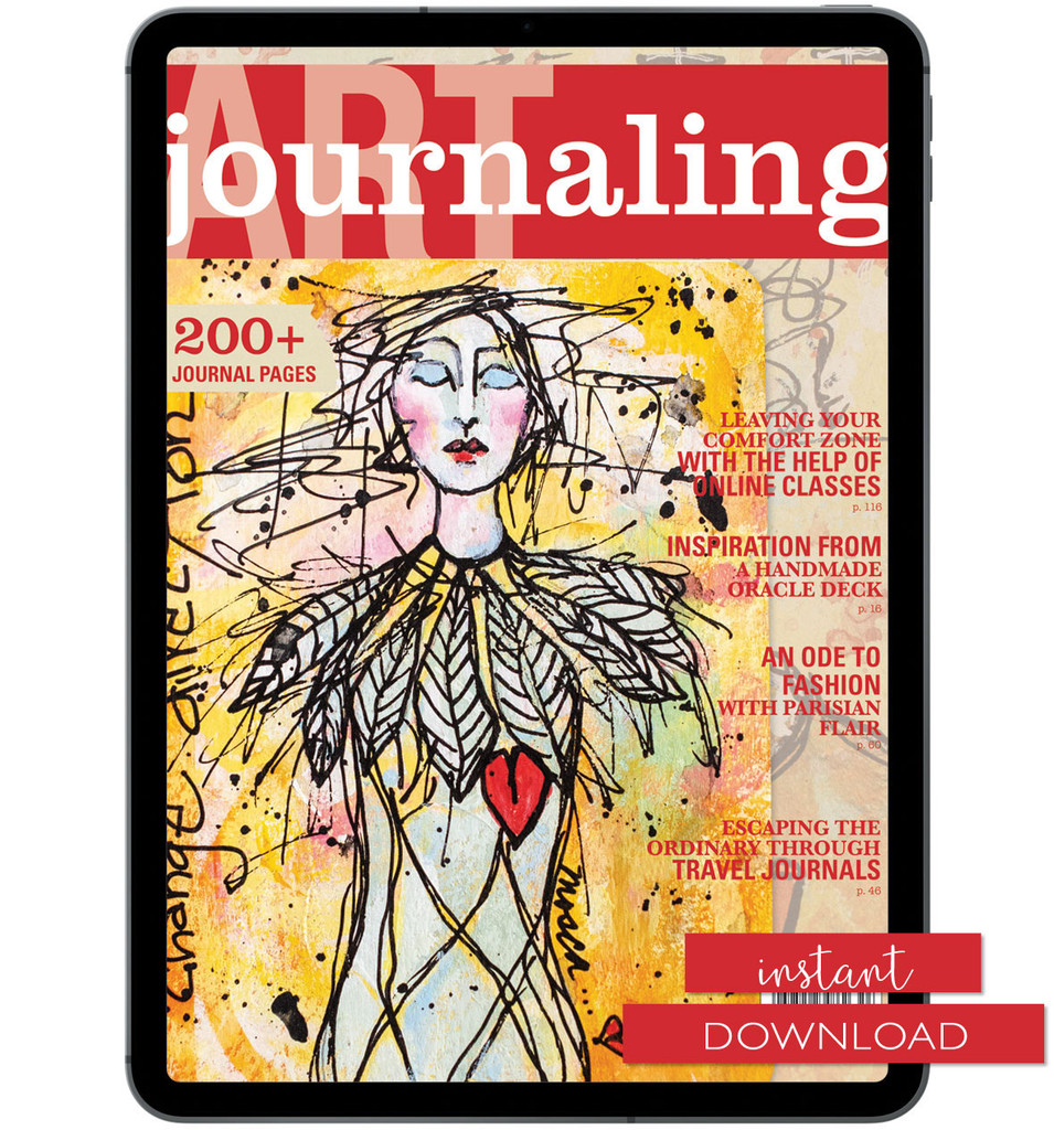 Art Journaling Autumn 2020 Instant Download