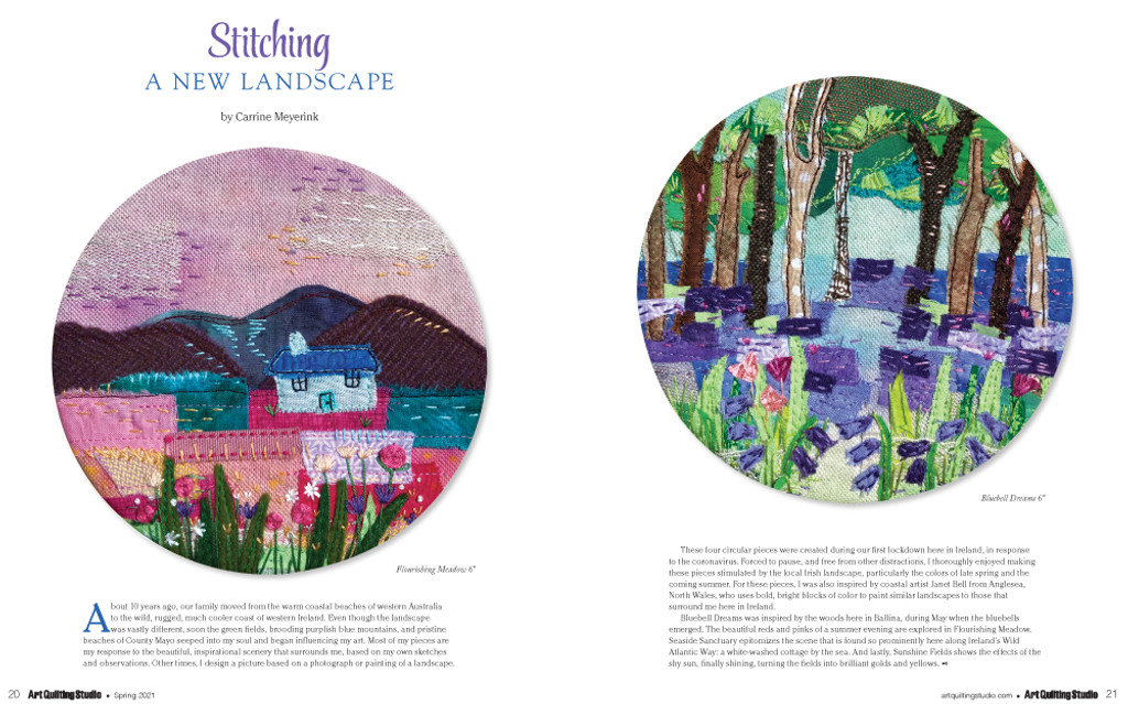 Art Quilting Studio Spring 2021