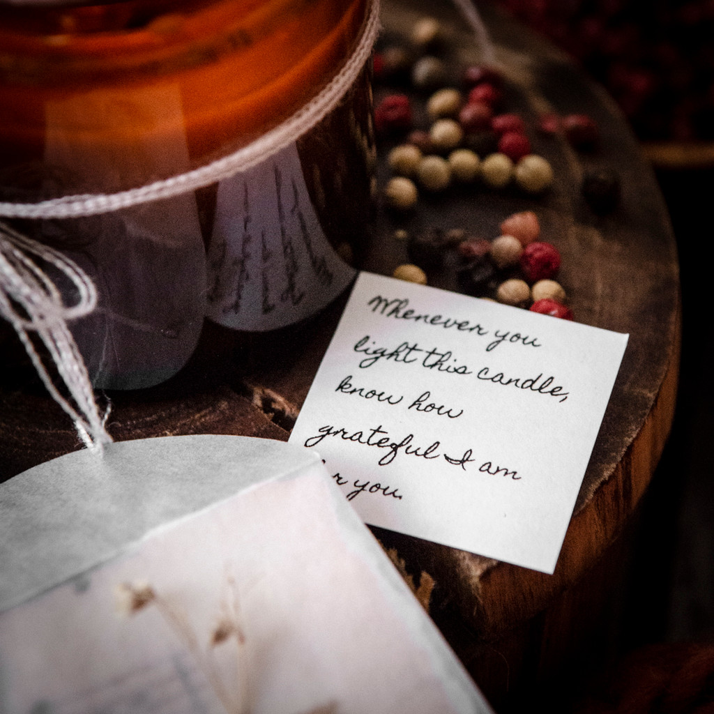 A Gift of Gratitude: Orange & Eucalyptus Candles to Make in the Oven by Christen Hammons