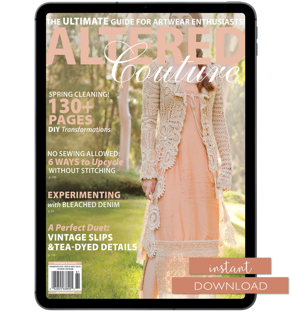 Altered Couture Spring 2018 Instant Download