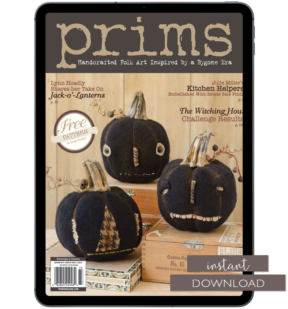 Prims Autumn 2017 Instant Download