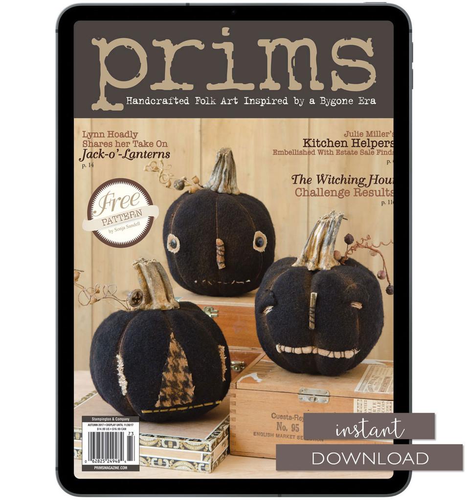 Prims Autumn 2017 Instant Download