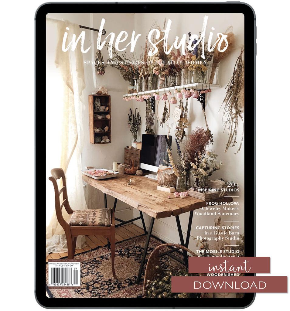 In Her Studio Winter 2021 Instant Download